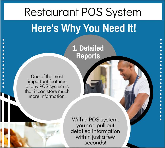 Restaurant POS system : Here's why you need it! Infographic